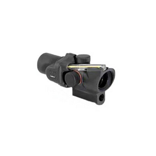 Trijicon ACOG 1.5 X 16  Ring And Dot Reticle with Short M16 Base Housing, Amber (Base M16)
