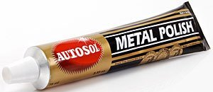Autosol Brass Aluminum Metal Polish 3.33oz.(75 ml) Tube by Eastwood