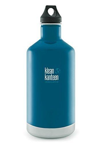 Klean Kanteen Winter Lake Classic Vacuum Insulated Storage with Loop Cap 64-Ounce [並行輸入品]   B06XFVTYD3