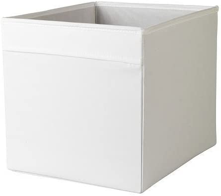 Ikea Caja, Poliéster, Blanco, 33x38x33 cm: Amazon.es: Hogar