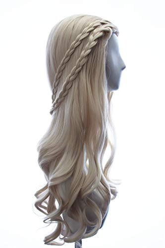 Daenerys Targaryen wig in Game of Thrones
