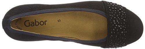 Gabor Shoes Fashion, Zapatos de Tacón para Mujer Azul (pazifik +Steine 16)