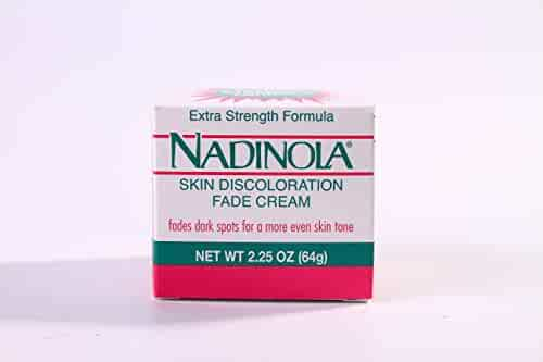 NADINOLA Skin Discoloration Fade Cream – Extra Strength Formula (2.25 ounces)
