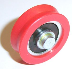 - Nylon Window slide Bearing 5x21x11.5 Miniature Ball Bearings