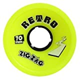 : 70MM ABEC11 ZigZags (ABZZ70-y83) Longboard Wheels (Set of 4)