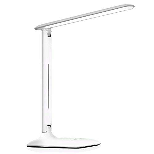 MUTANG LED Eye Protection Desk Lamp Foldable Touch Dimmable Table Lamp 3 Lighting Mode 5 Bright Levels Energy-efficient Lamp by MUTANG