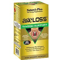Nature's Plus AgeLoss Thyroid Support 60 Capsules by Nature's Plus
