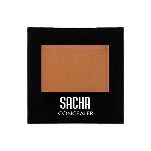 Kamaflage Concealer by Sacha Cosmetics, Best Maximum Coverage Camouflage Makeup Foundation, Matte Poreless Face & Eye Cover Up Concealer, 0.08 oz, Matte Caramel
