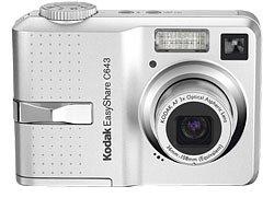 Kodak EasyShare C643 6.1MP Digital Camera with 3x Optical Zoom