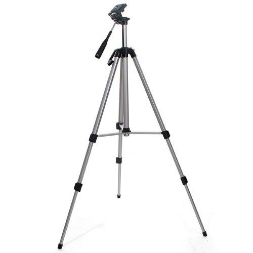 53'' Camera Tripod Mount Holder Stand for Logitech Webcam C925e C922x C922 C930e C930-Silver by AceTaken (Image #4)