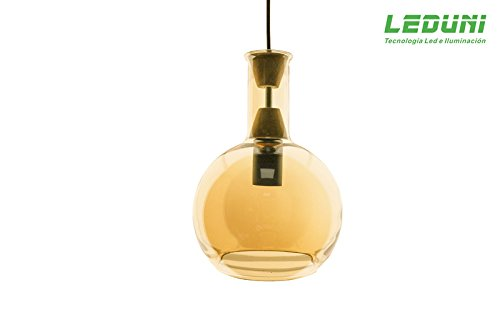 LAMPARA COLGANTE LED DE FORMA BOTELLA DECORAR BELLEZA