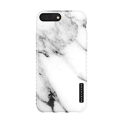 iPhone 8 Plus/iPhone 7 Plus case Marble, Akna Collection Flexible Silicon Cover for Both iPhone 7 Plus & 8 Plus [Himalaya Marble](836-U.S)