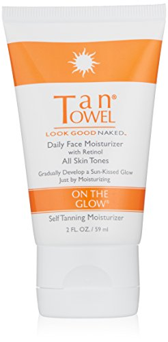 Price comparison product image TanTowel On The Glow - Daily Face Moisturizer with retinol - 2 oz