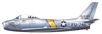 F-86E Sabre 1/72 Die Cast Model, Westcott and Gabreski, 25th FIS/51st FIW, Oct 1951