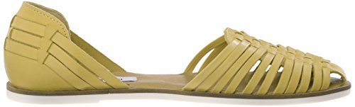 STEVE MADDEN HILLARIE - Sandalias para mujer Yellow Leather