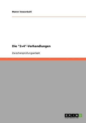 """Download Die """"2+4""""-Verhandlungen (German Edition) pdf"""