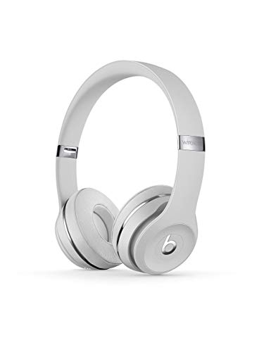 Beats Solo3 Wireless On-Ear Headphones – Satin Silver (Renewed)