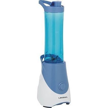 Lauson Batidora Portátil de Vaso extraíble, Mini Mixer para smoothies, Licuadora de 600ml,