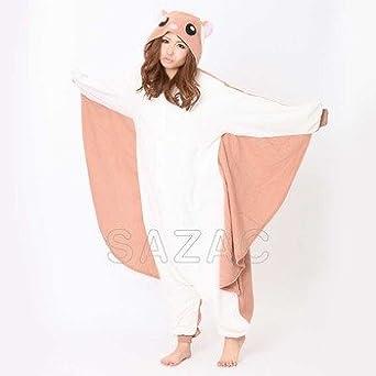 Amazon Com Flying Squirrel Kigurumi Adult Halloween Costumes Pajama Clothing