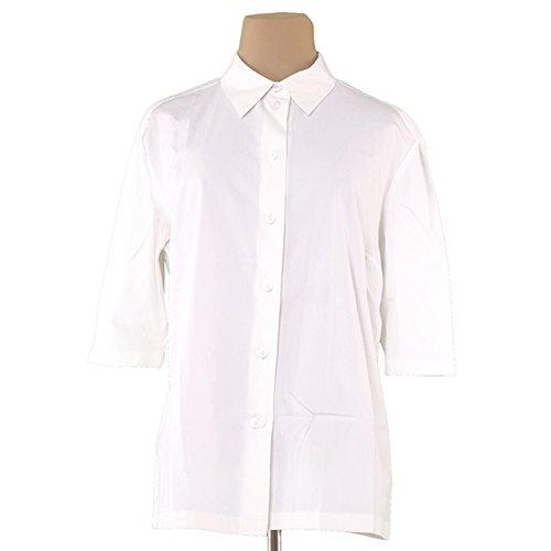 侵入する排泄物故意の[セリーヌ] CELINE シャツ レディース ?44サイズ 5分袖 中古 L1959
