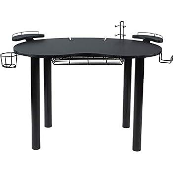Amazon Com Calico Designs 55123 Study Corner Desk Silver