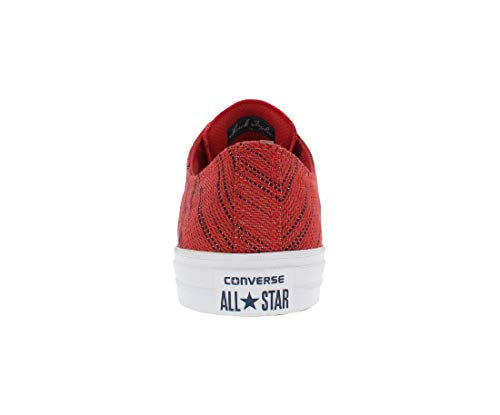 Converse Fashion Red High Ii Canvas Ox Taylor Sneaker Chuck Ankle 4qa40rx