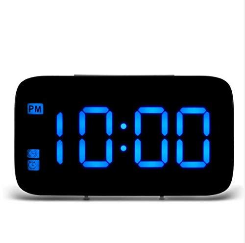linfei Mesa Digital De Sobremesa Relojes De Mesa Carga USB Alarma ...