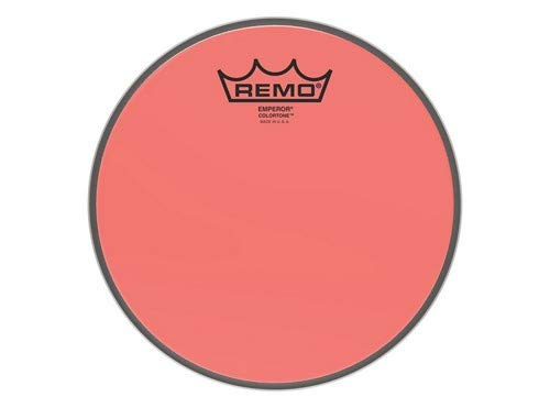 Remo Emperor Colortone Red Drumhead, 8