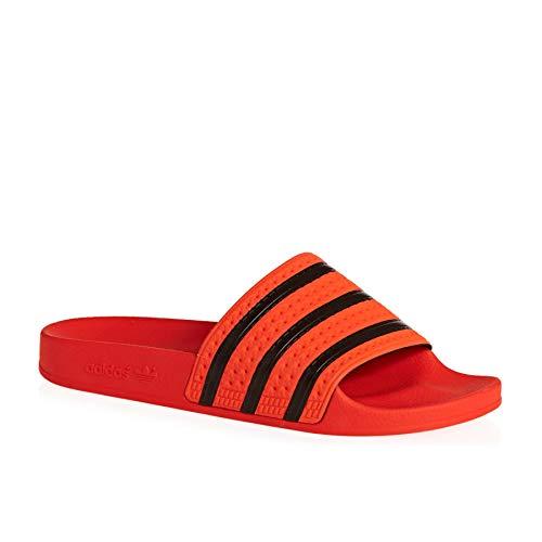 adidas Originals Adilette Sandals 7.5 B(M) US Women / 6.5 D(M) US Active Orange Core Black Active ()