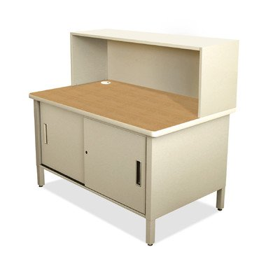 Mailroom Utility Table with Cabinet Finish: Putty by Marvel