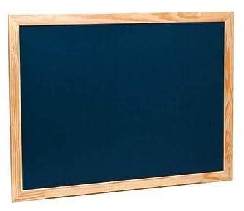Takestop® Pizarra negra con marco de madera de 40 x 30 cm ...