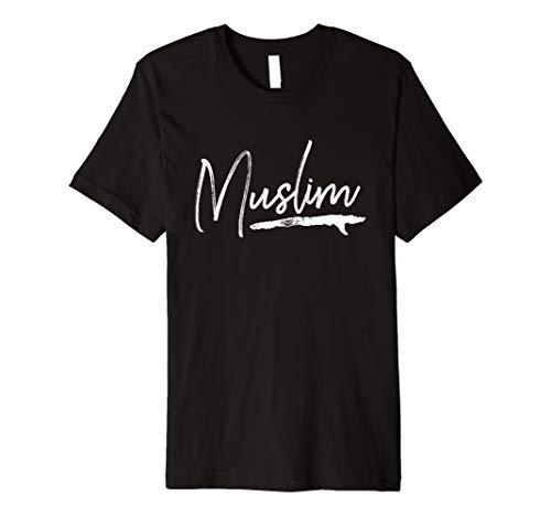 Muslim Muslima Arabic Culture Quran Sura Islam Premium T-Shirt