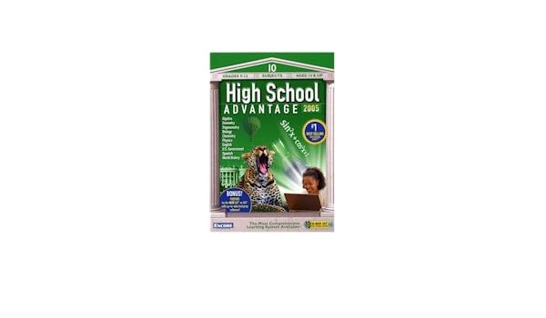 Amazon.com: High School Advantage 2005