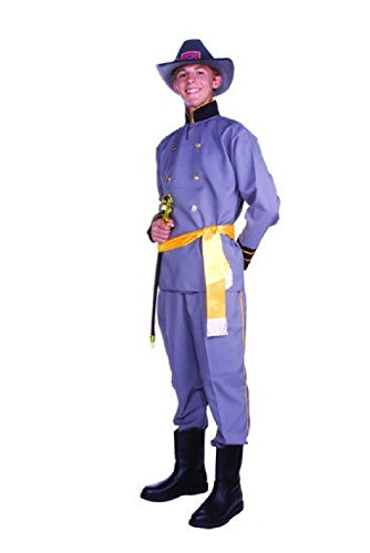 Confederate Soldier Costume Child (OvedcRay Confederate General Lee Teen Costume Civil War Soldier Captain Uniform)