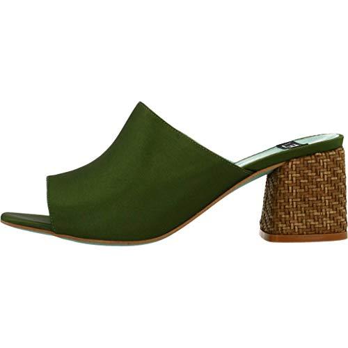 Colore 18254 Verde 431 Lab Per Verde Zoccoli Donne Le Donne kaki Modello Marca ZzwgpIq