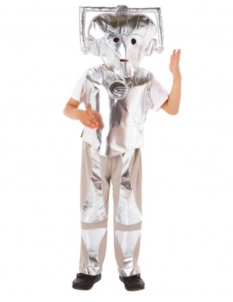 Doctor Who Cyberman Costume (3 - 5 (Doctor Who Boys Costume)