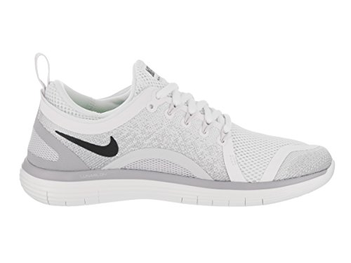 Nike Womens Free Rn Distanz 2 Laufschuh Weiß / Sangria-light Holzkohle