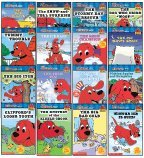 "SET OF 16 CLIFFORD THE BIG RED DOG® BIG RED READERS (The Big Bad Cold, The Big Itch, The Big White Ghost, Clifford for President, Clifford's Loose Tooth, The Dog Who Cried ""Woof!"", The Ice Race, The Mystery of the Kibble Crook, Picking Apples and Pumpkins, The Show-and-Tell Surprise, The Snow Champion, Snow Dog, The Stormy Day Rescue, Time for School, Tummy Trouble, and Winter Ice is Nice!)"