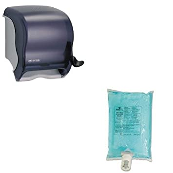 kitrcp750112sjmt950tbk - Value Kit - Rubbermaid Autofoam jabón de la mano Refill (rcp750112) y San Jamar elemento de palanca rollo dispensador de toalla ...