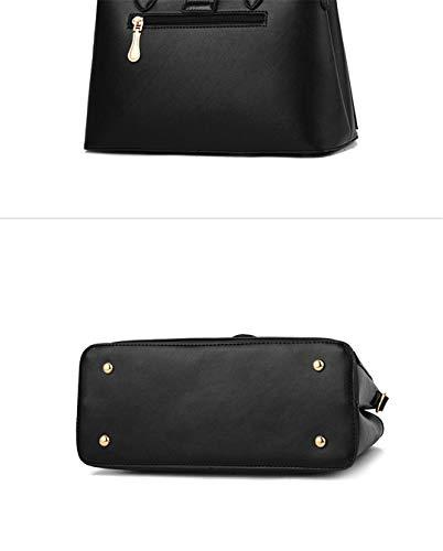Borse a Borse tracolla per Borse da a Grigio Patchwork tracolla borsa donna a pelle Giallo 29x12x20cm in tracolla OPddxqX
