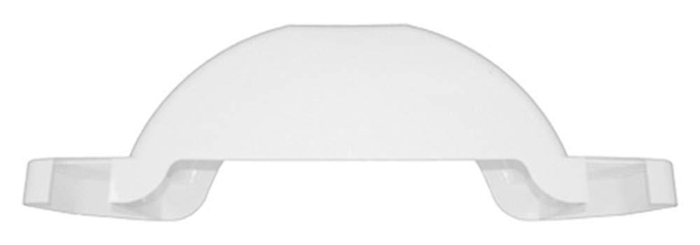 FULTON TRAILER FENDERS PLASTIC FENDER 14 TIRE SIZE WHITE #008574