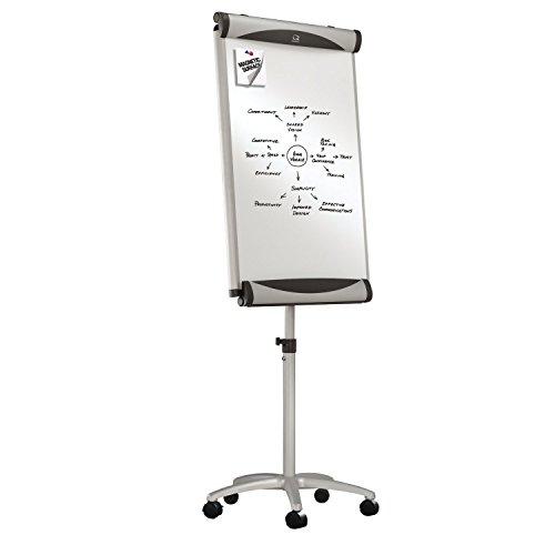 Quartet Easel, Mobile, Magnetic, Whiteboard / Flip Chart, 27 x 41 Inches, Euro Premium (EU2000TE) by Quartet