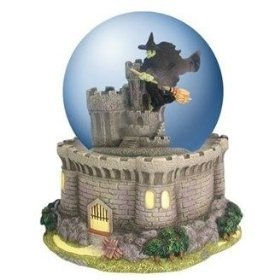 Westland Giftware Wizard of Oz Waterglobe - Wicked Witch Over Castle by Westland Giftware