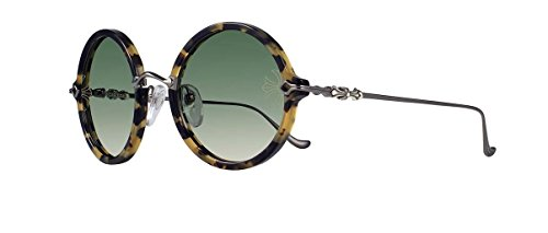 Chrome Hearts - Moist- Sunglasses (Hollywood Tortoise - Shiny Black, Dark Green G-15 - Chrome Sunglasses Online Hearts