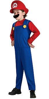 Super Mario Costume - Small (Boys Mario Costume)