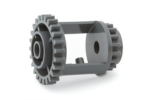 LEGO TECHNIC 60-Piece GEAR, Wheel, Axle and Stopper Pack Set
