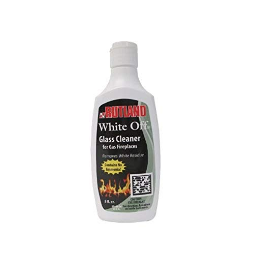 Rutland Products Rutland 1/2-Pint White-Off Glass Cleaner, 8 Fluid Ounce, 8 Fl Oz - -