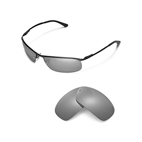 Walleva Replacement Lenses for Ray-Ban RB3183 63mm Sunglasses - Multiple  Options Available 472e4e670597