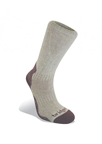 Bridgedale Womens Bamboo - Bamboo Crew Women's comes with a sock ring - Aubergine - S