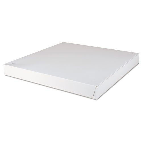 Southern Champion Tray 1470 Paperboard White Pizza Box, 18